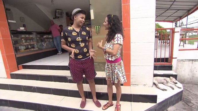 Sósia de Maria Gadú, designer Tatiana Dias garante que é tudo coincidência (Foto: TV Bahia)