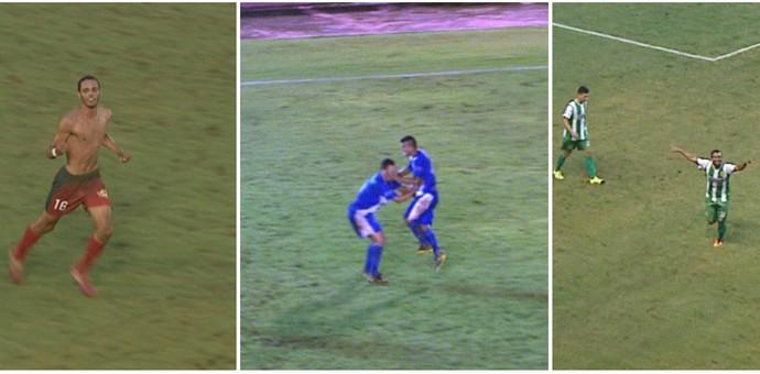 Montagem enquete gols 6ª rodada Acreano (Foto: Reprodução/Rede Amazônica Acre)