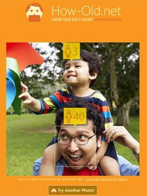 Site da Microsoft tenta adivinhar 'idade aparente' (Foto: Reprodução)