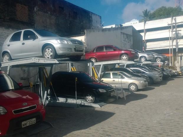 Empresário conheceu o serviço em São Paulo e trouxe a Maceió há seis meses (Foto: Nívio Dorta/G1)