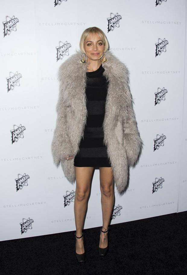 Nicole Ritchie em evento de moda em Los Angeles, nos Estados Unidos (Foto: Valerie Macon/ AFP)