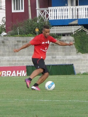 Rodolfo Flamengo treino (Foto: Richard Souza)