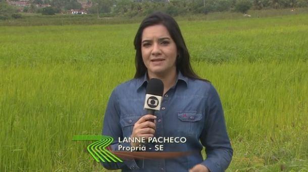 Lanne Pacheco e Jackson Cabral realizaram a reportagem para o programa (Foto: Divulgação/TV Sergipe)