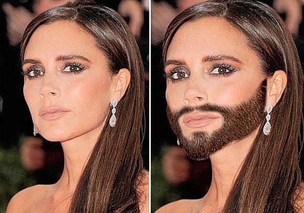 Victoria Beckham barbada. Será que David iria curtir? A gente acha que não (Foto: Reprodução)