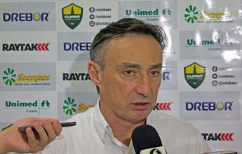 Roberto Fonseca destaca entrega dos jogadores em recuperação do Cuiabá