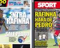Imprensa catalã destaca que saída de Pedro vai abrir espaço para Rafinha
