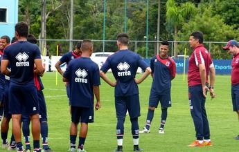 Com dores, Válber é poupado e vira dúvida no Paraná contra o Rio Branco