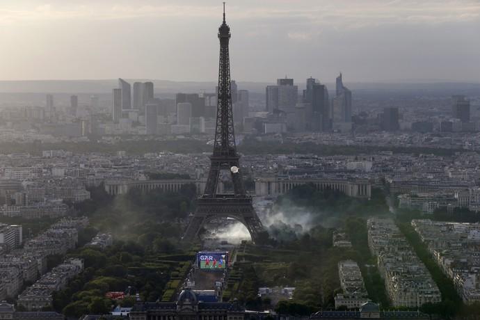 Fan Zone Euro Paris final eurocopa (Foto: AFP)