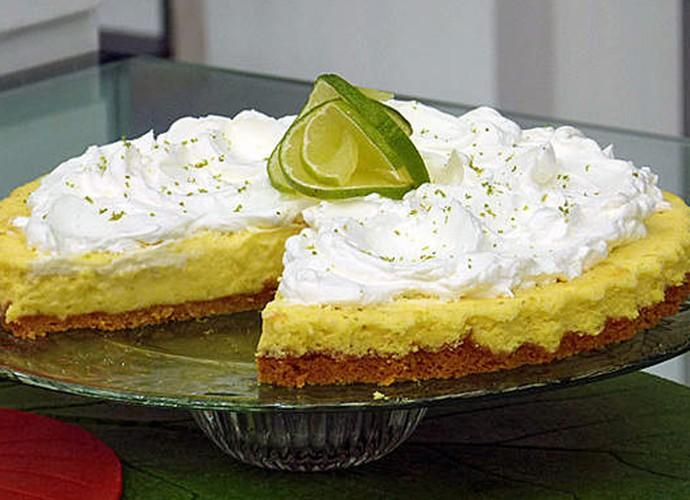 Torta Suflê de Limão (Foto: TV Globo)