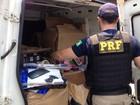 Oito pessoas são presas em operação de combate ao contrabando