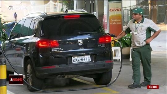 Combustível com aumento de imposto já chegou ao consumidor