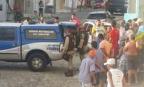 Mãe e filha são mortas a tiros dentro de casa (Marcus Augusto/Site Voz da Bahia)