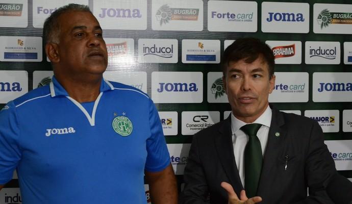 Ademir Fonseca técnico Guarani (Foto: José da Cunha / Guarani FC)