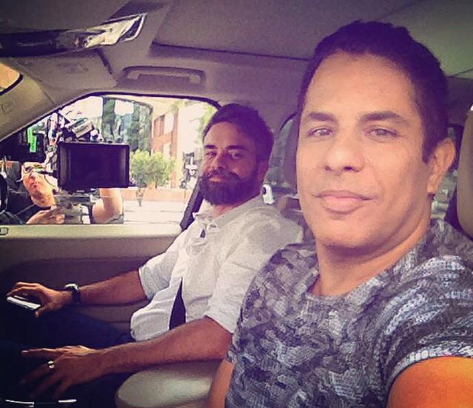 Márcio Kieling e Luka Ribeiro  (Foto: Arquivo pessoal)