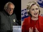 Hillary e Sanders cara a cara em debate antes das primárias de NY