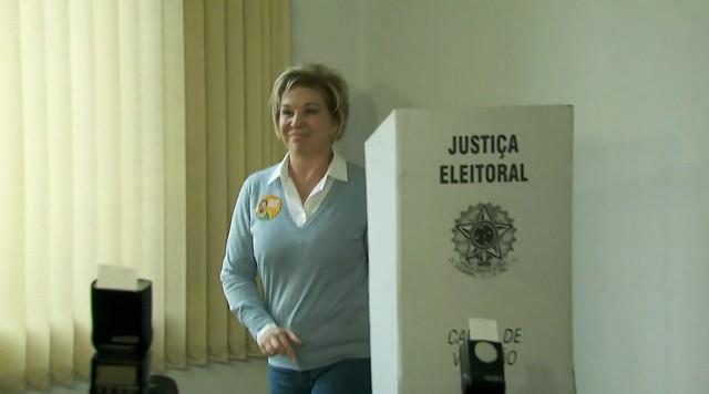 Marta Suplicy vota na Zona Sul de São Paulo