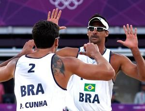 Dupla do vôlei de praia Pedro e Ricardo (Foto: Agência Reuters)
