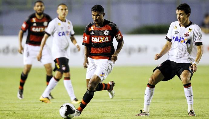 Márcio Araujo, Flamengo X Atlético-PR (Foto: Gilvan de Souza / Flamengo)