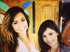 Anitta tieta Sabrina Sato: 'Linda, perfeita, querida... Te amei'