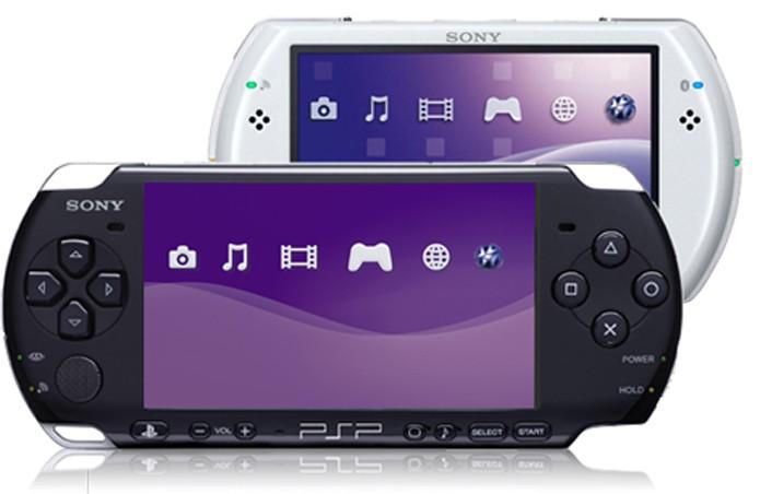 PSP, o portátil da Sony lançado em 2004 (Foto: Divulgação)