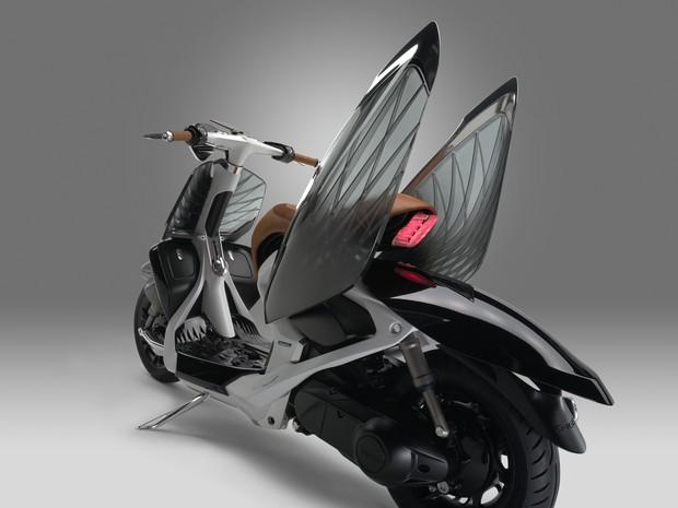 Yamaha 04GEN é scooter com asas (Foto: Divulgação)