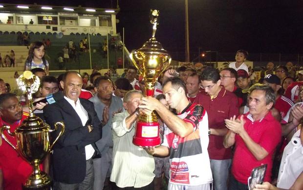 santa cruz-pb vice-campeão da 2ª divisão do paraibano (Foto: Damião Lucena / Globoesporte.com/pb)