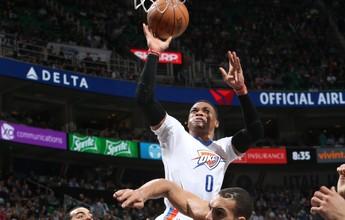 Westbrook faz 22º triplo-duplo, OKC vence Utah Jazz e quebra série ruim