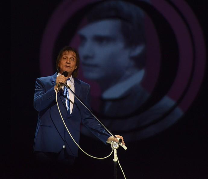 Roberto Carlos emociona em seu Especial de fim de ano (Foto: Ellen Soares/Gshow)