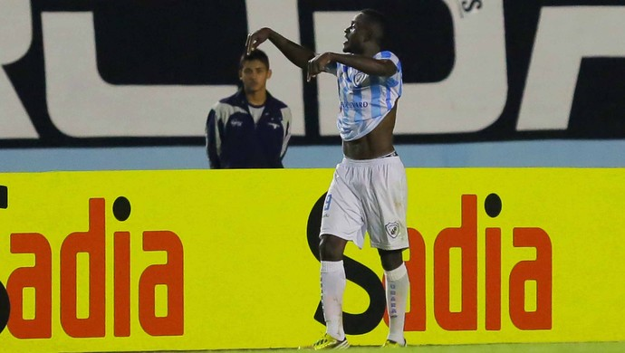 Joel gol Londrina x Santos (Foto: Célio Messias / Ag. Estado)