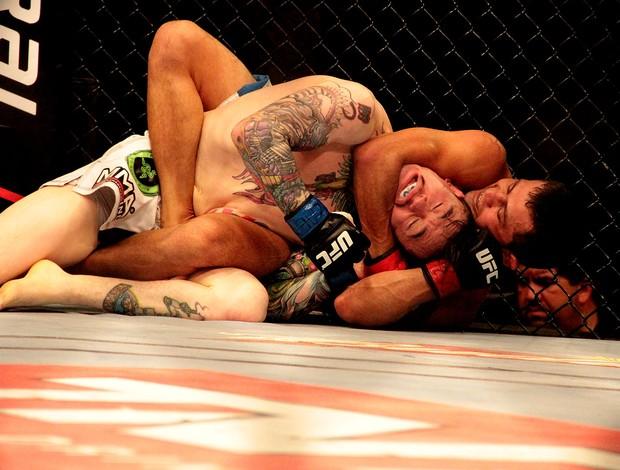 UFC JUSSIER FORMIGA X SCOTT JORGENSEN (Foto: Rodrigo Malinverni)