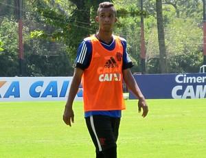 Flamengo treino jorge (Foto: Thales Soares)