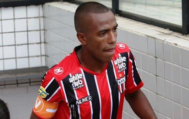 Samuel Santos Botafogo-SP (Foto: Luís Augusto / Agência Botafogo)