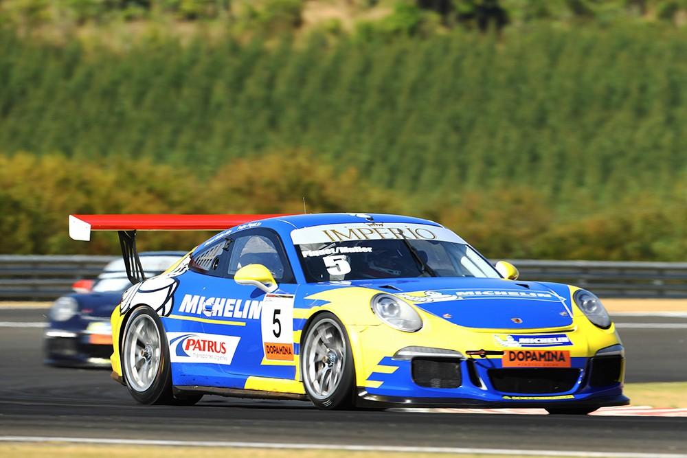 Pedro Piquet e Marçal Müller Porsche Imperio GT3 Cup (Foto: Divulgação/Luca Bassani/Porsche Império GT3)