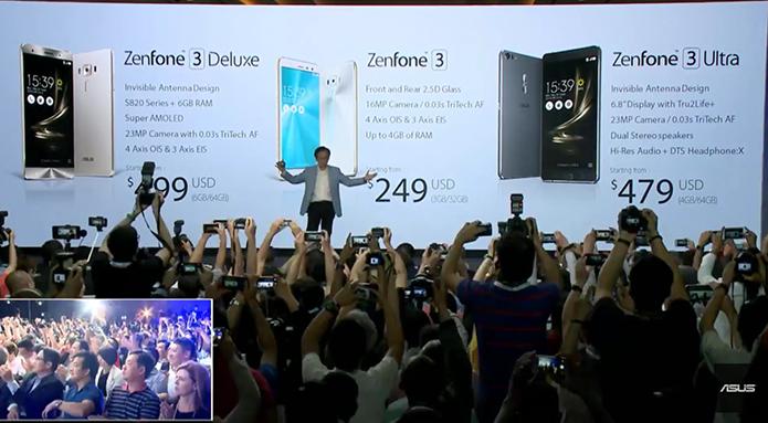 Zenfone 3 chegou em três variáveis e com preços atrativos (Foto: Reprodução/Asus)