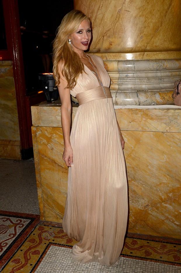Paris Hilton em evento em Nova York, nos Estados Unidos (Foto: Gustavo Caballero / Getty Images/ AFP)