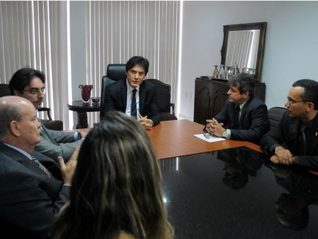 Convênio foi assinado nesta sexta-feira (6) (Foto: Divulgação/Assessoria)