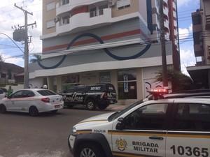 santa maria rs polícia (Foto: Vanessa Backes/RBS TV)