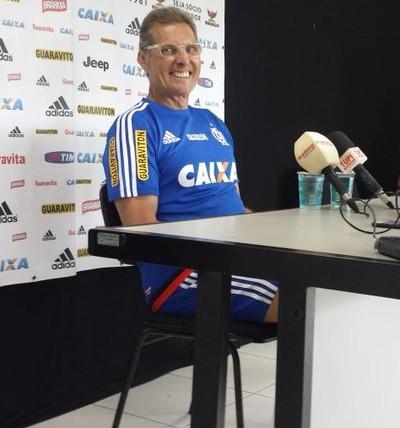 Oswaldo Oliveira Flamengo (Foto: Fred Gomes / GloboEsporte.com)