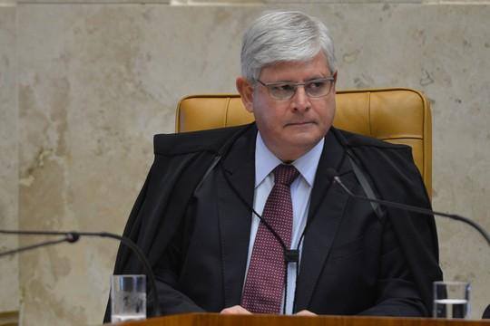 Rodrigo Janot durante abertura do ano Judiciário no Supremo Tribunal Federal (STF) (Foto: Antônio Cruz/Agência Brasil)