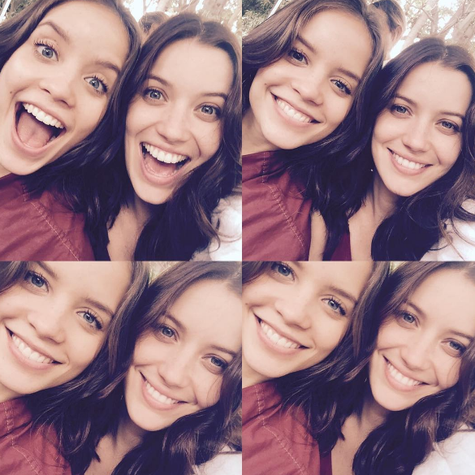 Joana Borges e Nathalia Dill (Foto: Reprodução)