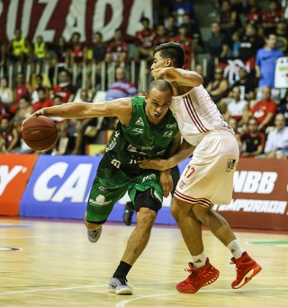 Flamengo x Bauru basquete NBB (Foto: Caio Casagrande/Bauru Basket)