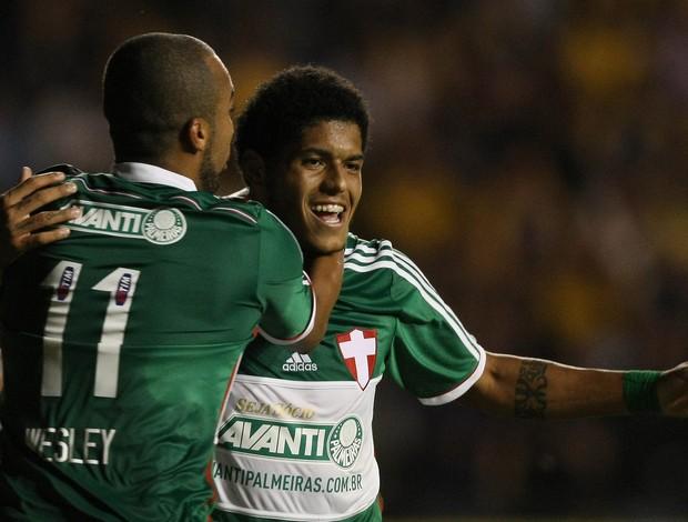 Leandro gol Palmeiras (Foto: Cesar Greco / Ag. Estado)