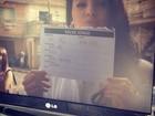 Bruna Marquezine brinca em gravação de 'Salve Jorge'