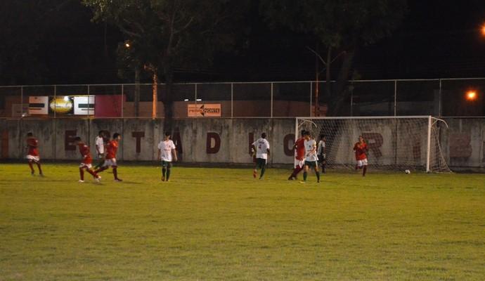 Baré foi o primeiro a marcar, mas a virada do Real veio ao segundo tempo (Foto: Herianne Cantanhede)