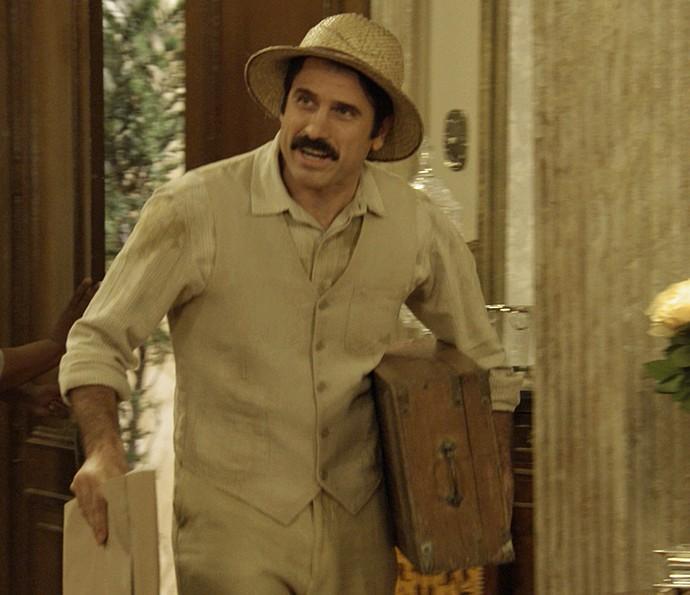 Ernesto se passará por Candinho nos próximos capítulos de 'Êta Mundo Bom!' (Foto: TV Globo)