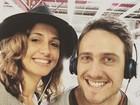 Igor Angelkorte, namorado de Camila Pitanga, viajou a Sergipe para apoiá-la