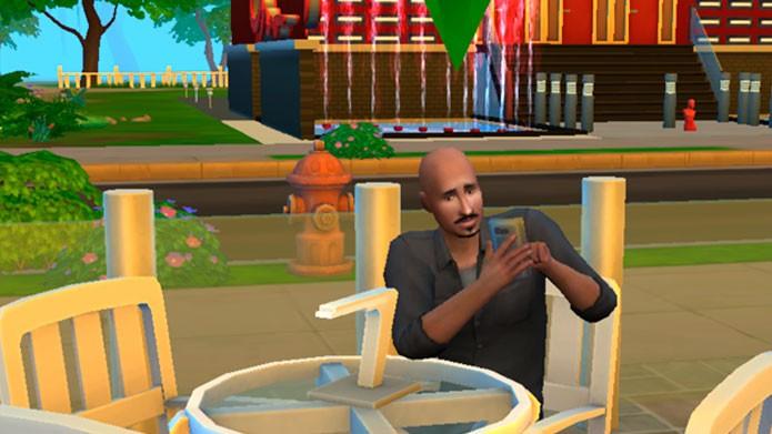 The Sims 4 rodando em qualidade baixa (Foto: Reprodução/Tais Carvalho)