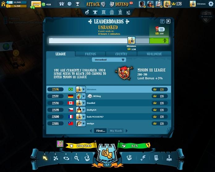 Os clãs de The Mighty Quest for Epic Loot oferecem uma jogabilidade diferenciada nas disputadas partidas deste MOBA (Foto: Reprodução/Daniel Ribeiro)