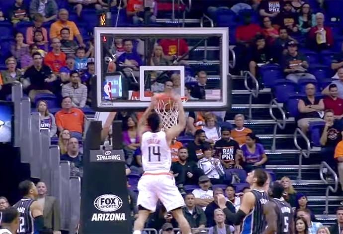 Frame Gerald Green Suns  NBA (Foto: Reprodução)
