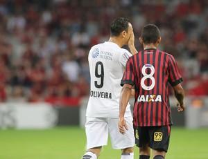 David, do Atlético-PR, Ricardo Oliveira do Santos (Foto: Giuliano Gomes/PR PRESS)